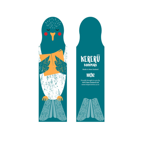 NZ Cuties Kereru Bookmark