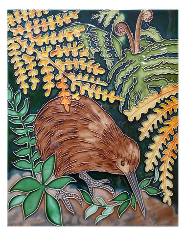 Kiwi Bush Ceramic Tile