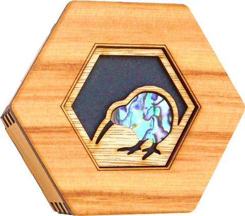 Rimu Hexagonal Box - PunaKiwi
