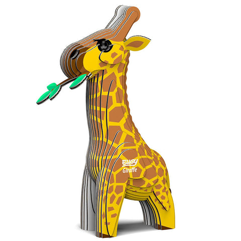 3D Cardboard Kit Set -Giraffe