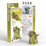 3D Cardboard Kit Set -Dragon