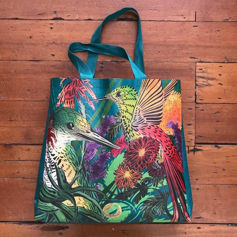 Flox Reusable Shopping Bag - Kingfisher