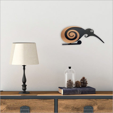 2Tone Birds Wall Art - Moko Kiwi Small