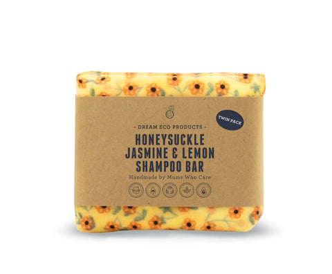 Honeysuckle Jasmine & Lemon Shampoo Bar - Twin Pack