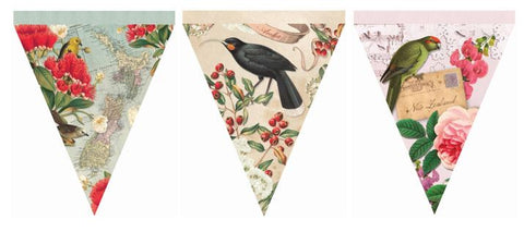 Vintage New Zealand Set of 15 - Bunting