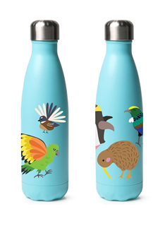 Drink Bottle - Kids - Kiwi Birds