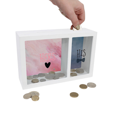 His & Hers Money Box