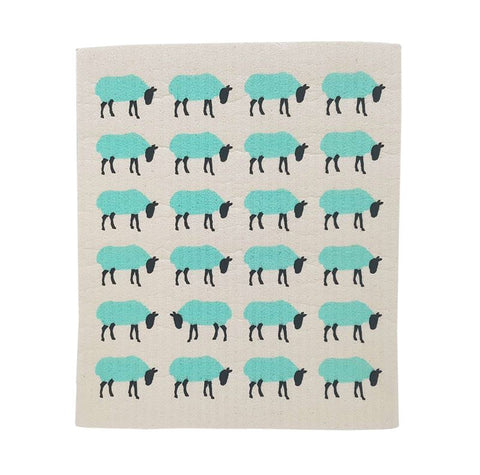 Sheep - Swedish Dishcloth