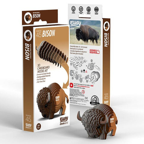 3D Cardboard Kit Set - Bison