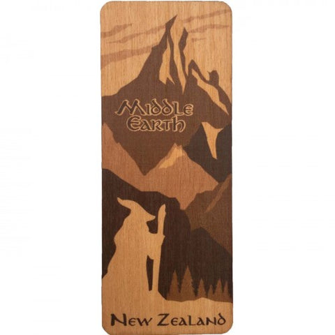 NZ Made Bookmark Middle Earth