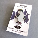 Enamel Pin - Hoiho Yellow -Eyed Penguin