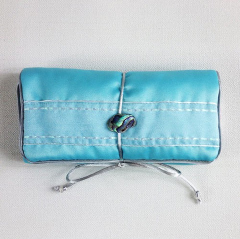 Paua Jewellery Bag - Small