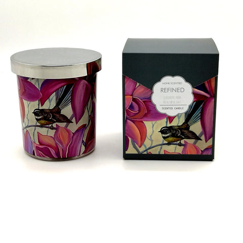 Scented Candle Refined Fantail Irises