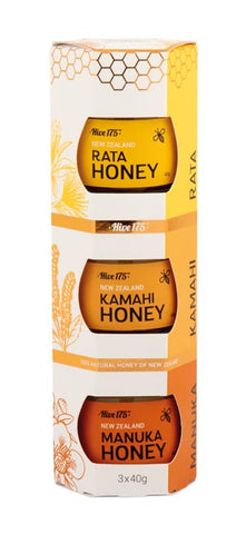 Honey White Pack of 3