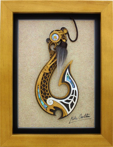 Framed Art - Large Framed Hook