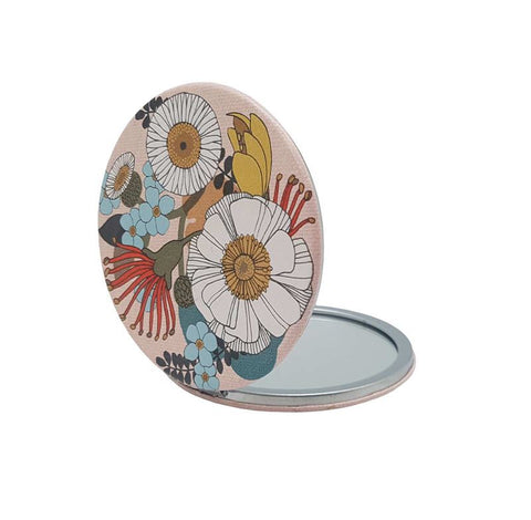 Folk Flowers - Cosmetic Mirror