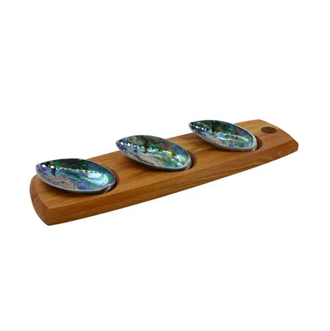 Paua 3 Shell Serving Set