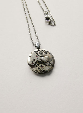 Timepiece Mini Pendants with symbol - Heart