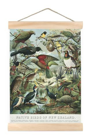 Mini Wall Chart - Native Birds