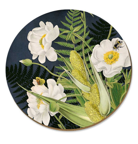 NZ Cork Placemat - Mt Cook Lily