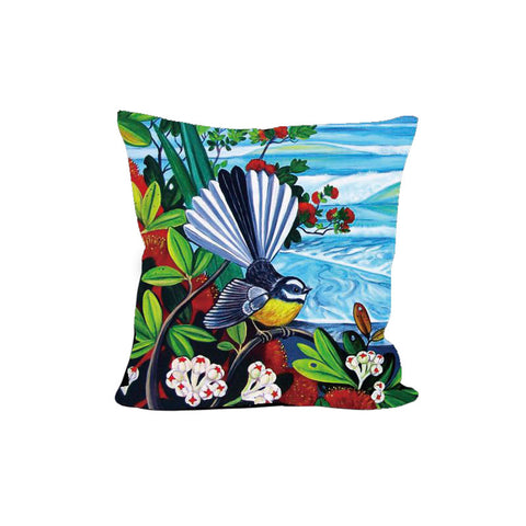 Cushion Cover - Fantail Rangitoto