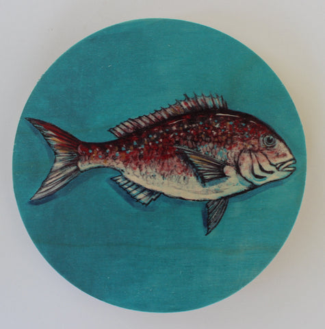 Snapper - Plywood Wall Art