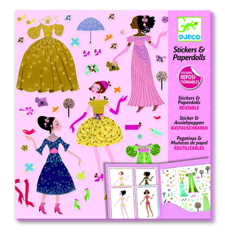 Paper Dolls - Dresses Seasons