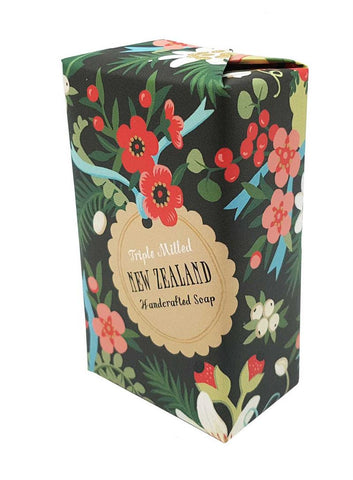 NZ Flower Tag Soap