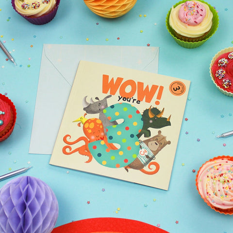 Birthday Book - Wow! You are 3
