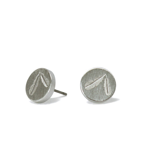 Rua Huia Silver Earrings