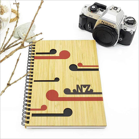 Bamboo Journal S - NZ Koru