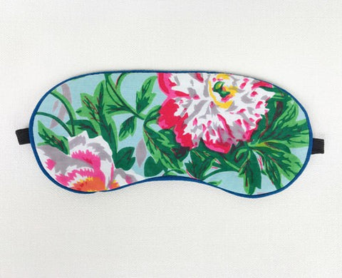 Eye Mask Spring Bloom Sky Blue