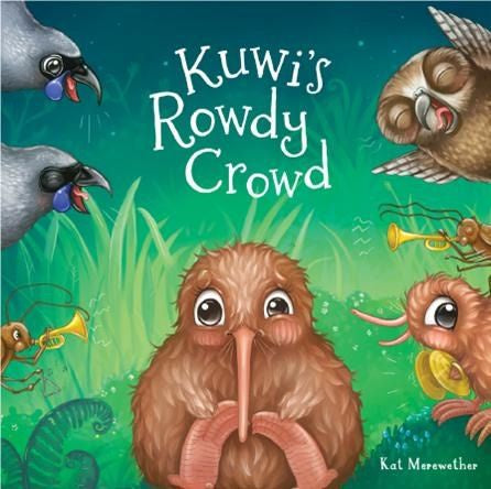 Kuwi's Rowdy Crowd Book + Kuwi soft toy