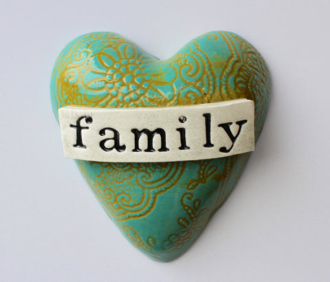 Family wall Heart