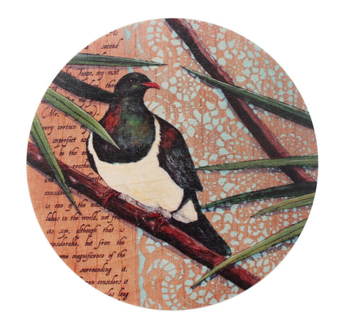 Kereru - Plywood Wall Art