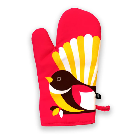Oven Mitt - Iconic Fantail