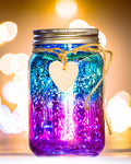 Ombre Sparkle Jar - Blue & Purple