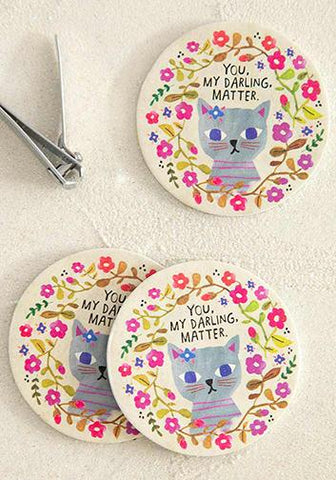 Emery Board Set of 3 Cat You Matter