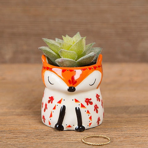 Faux Critter Succulents - Fox
