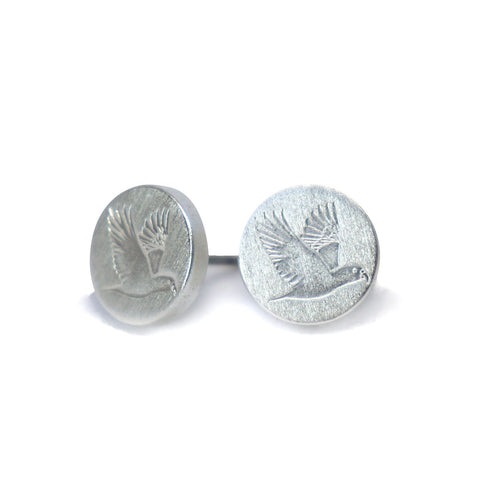 Kia ora Kea Silver Earrings