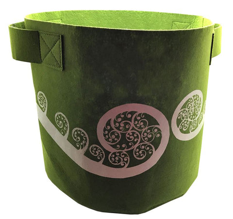Ponga Green 7 Gallon Felt Bag