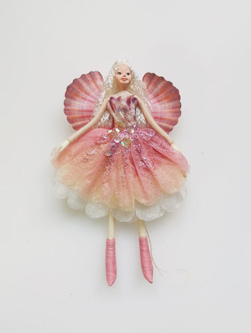 New Zealand Fairy - Pink Shell