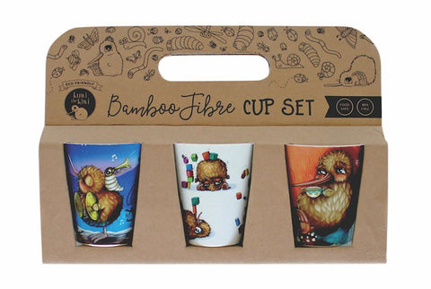 Bamboo Cups Set of 3