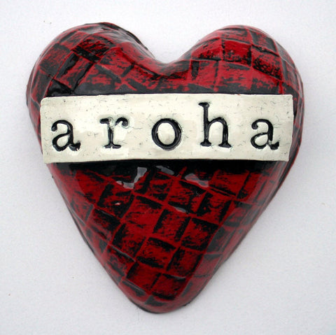 Aroha Ceramic Small Heart