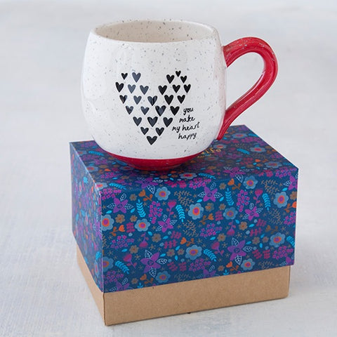 Love heart happy Mug
