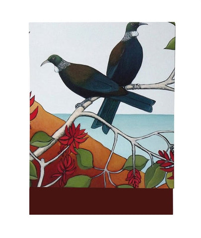 Tui In The Flame Tree 1 - Mini Notepad