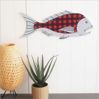 Layered Fish Wall Art : Snapper