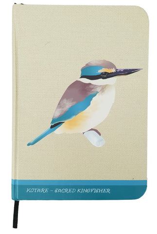 Notebook A6 Sacred Kingfisher