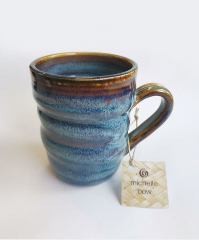 Blue Earth Mug michelle bow nz made