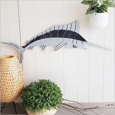 Layered Fish Wall Art : Marlin